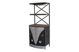Black Vw Wine Tower
