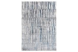 5'x7' Rug-Tallymark Grey/Blue