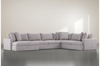 SP KIT-GRAND DOWN 4PC SECTIONAL W/LAF OVERSIZED CHAISE