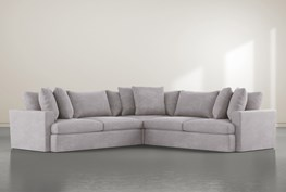 """Grand Down 3 Piece 127"""" Sectional"""