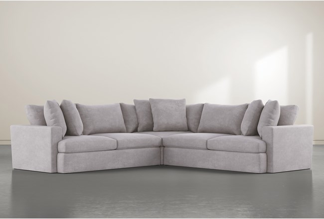 """Grand Down 3 Piece 127"""" Sectional - 360"""