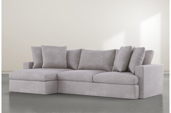 "Grand Down 2 Piece 125"" Sectional With Left Arm Facing Chaise"