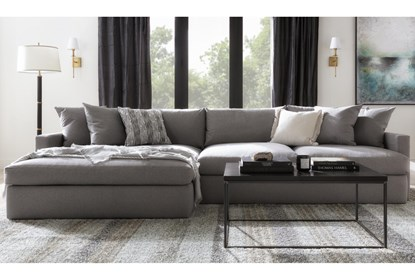 Left Arm Facing Oversized Chaise, Oversized Sectional Sofas With Chaise