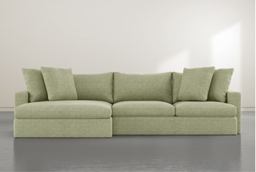 """Grand Ivy 2 Piece 139"""" Sectional with Left Arm Facing Oversized Chaise"""