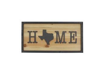 Wall Decor Texas Home Sign