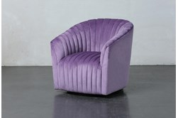 Orchid Channel Swivel Accent Chair