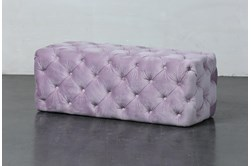 Orchid Tufted Rectangle Ottoman