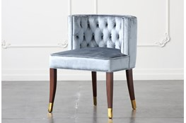 Sapphire Velvet Dining Chair