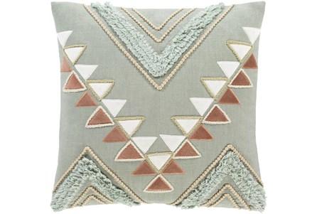 Accent Pillow-Boho Mint/Rust 18X18 - Main