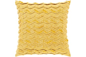 Accent Pillow-Zig Zag Lemon 18X18
