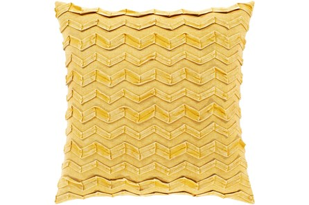 Accent Pillow-Zig Zag Lemon 18X18 - Main