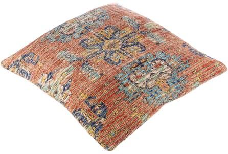Floor Cushion-Jute Traditional Sunset 26X26 - Main
