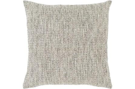 Accent Pillow-Metallic Tweed Grey 22X22 - Main
