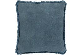 Accent Pillow-Brush Fringe Slate 20X20