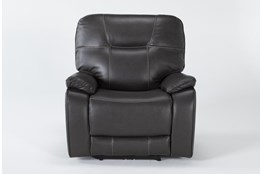 Tyson II Charcoal Power Recliner With Power Headrest & Usb