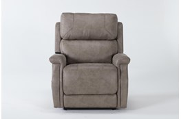 Thorpe Mocha Power Lift Recliner With Power Headrest
