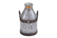 17 Inch Galvanized Iron Milk Can