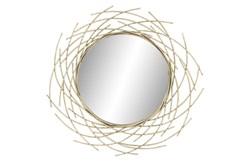 39 X 39 Inch  Circular Twig Silhouette Wall Mirror