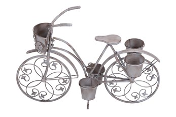 26 X 36 Vintage Bicycle Plant Stand