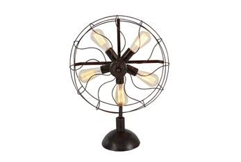 24 Inch Radial Fan Lamp