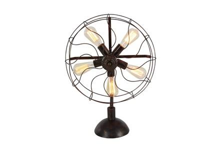 24 Inch Radial Fan Lamp - Main