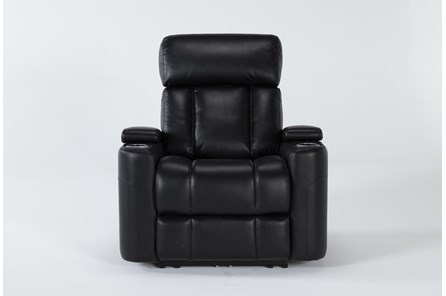 Eastwood Midnight Home Theater Power Wallaway Recliner With Power Headrest - Main