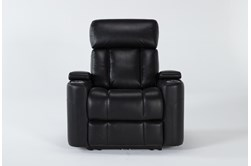 Eastwood Midnight Home Theater Power Wallaway Recliner With Power Headrest & Bluetooth