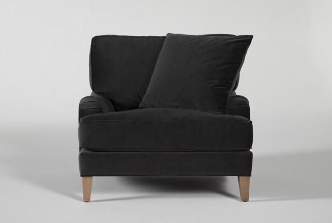 Abigail IV Velvet Arm Chair - 360