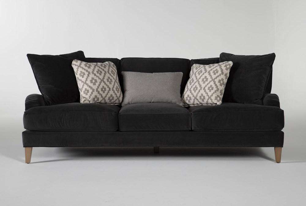 """Abigail IV Velvet Estate 96"""" Sofa"""
