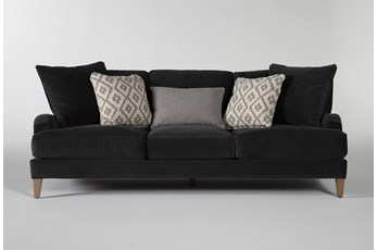 "Abigail IV Velvet Estate 96"" Sofa"