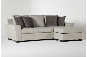 "Delano Thrillist 101"" Sofa With Reversible Chaise"