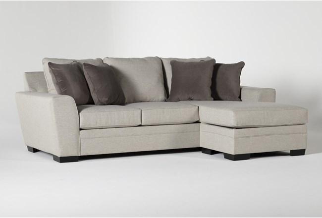 "Delano Thrillist 101"" Sofa With Reversible Chaise - 360"