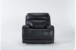 Victor Navy Zero Gravity Power Recliner With Power Headrest & Lumbar