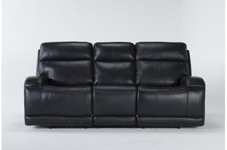 Victor Navy Zero Gravity Power Reclining Sofa With Power Headrest & Lumbar - Main