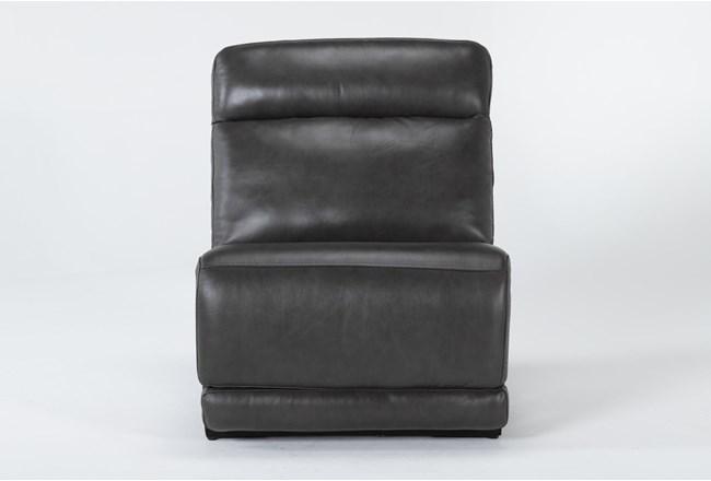 Vance Zero Gravity Grey Armless Chair - 360
