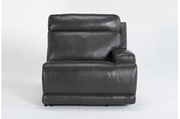 Vance Zero Gravity Grey Right Arm Facing Power Recliner With Power Headrest & Lumbar