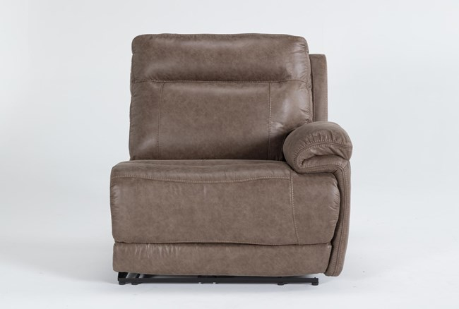 Wallace Light Brown Zero Gravity Power Right Arm Facing Recliner With Power Headrest - 360