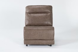 Wallace Light Brown Armless Chair