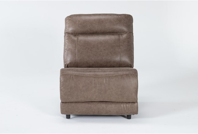 Wallace Light Brown Armless Chair - 360