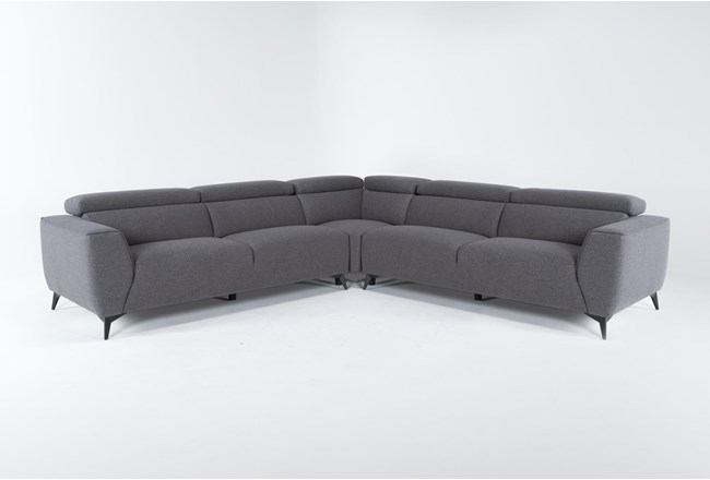 "Lucas Graphite 3 Piece 113"" Sectional - 360"