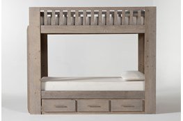 Morgan Twin Over Twin Bunk Bed With Storage