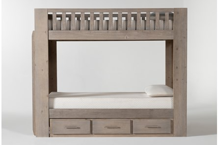Morgan Twin Over Twin Bunk Bed With Storage - Main
