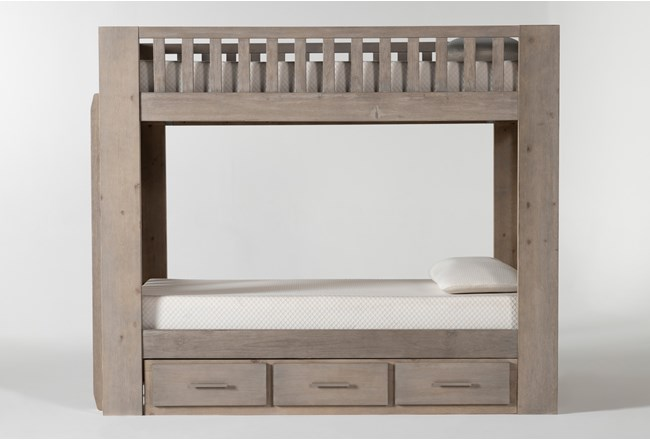Morgan Twin Over Twin Bunk Bed With Storage - 360