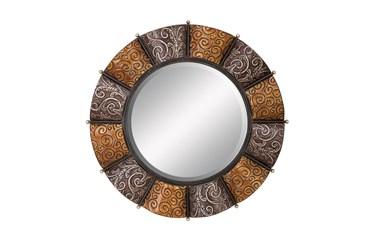 Multi 3 Inch Metal Mirror