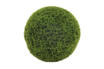 Green 15 Inch Vinyl Grass Ball