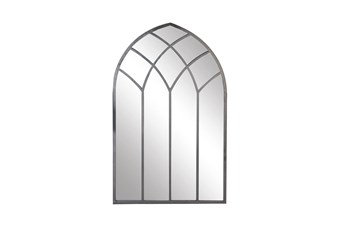 Clear 48 Inch Metal Wall Mirror