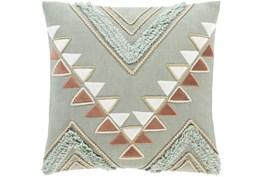Accent Pillow-Boho Mint/Rust 18X18