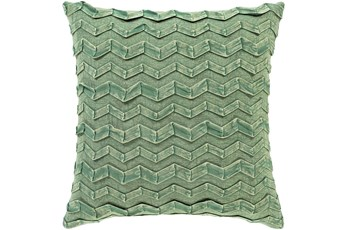 Accent Pillow-Zig Zag Kiwi 18X18