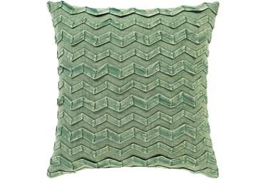 Accent Pillow-Zig Zag Kiwi 18X18