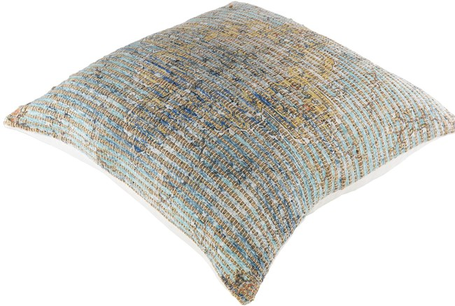 Accent Pillow-Jute Traditional Slate 26X26 - 360